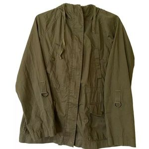 Tommy Hilfiger Cargo Jacket Military Green Hoodie